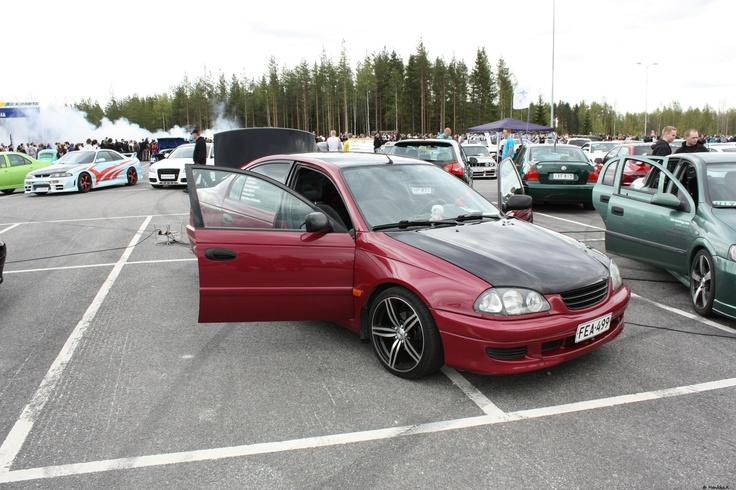 Jouni Eskolan hieno Avensis.