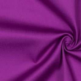 Lightweight cotton sateen with Lycra for crosswise stretch. Prime fabric for all sorts of garments, from skirts and dresses to jackets and childrenswear.