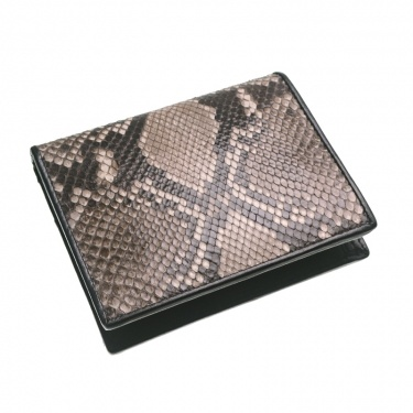 Natural Color Python Leather Wallet