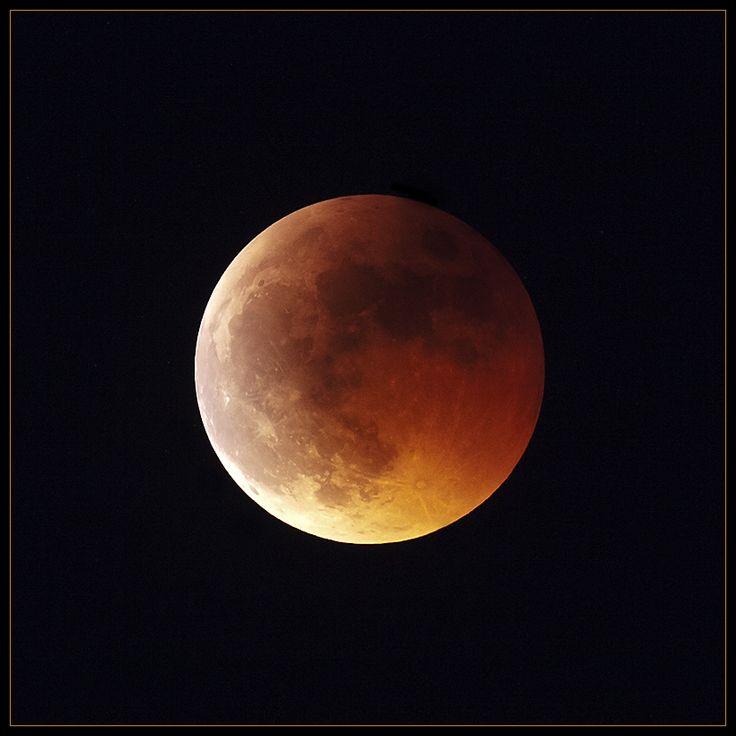 Astronomie Mond Mondfinsternis Nacht Natur
