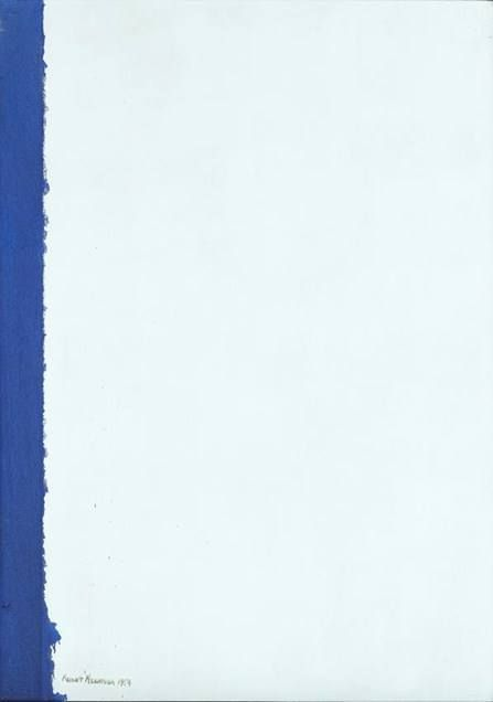 Right Here (1954) by Barnett Newman