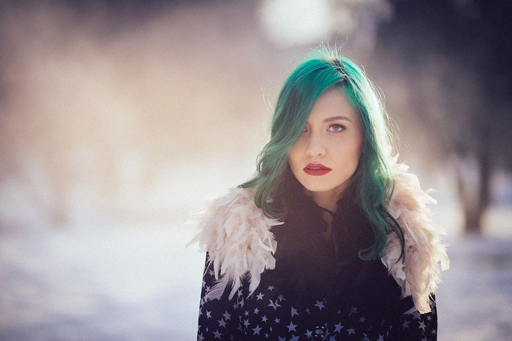 Foto by #AndreiIvan #andreeaverde #lachatterie #Greenhair