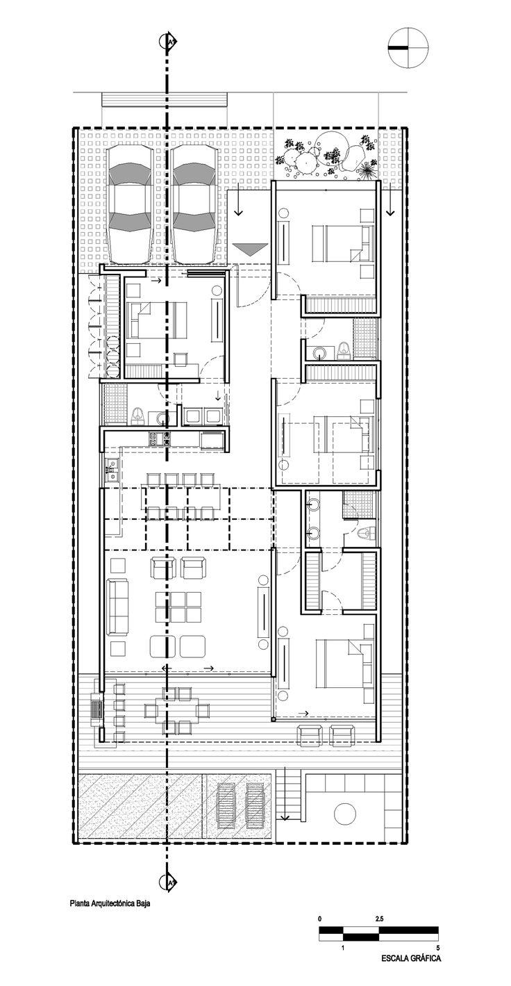 Imagem 20 de 22 da galeria de Casa MRE / Imativa Arquitectos. Planta Baixa