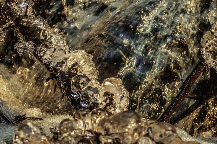 Icy Abstract -  Abstrakti jää by Pauliina Kuikka