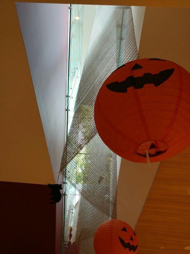Ceiling from OOPEN restaurant