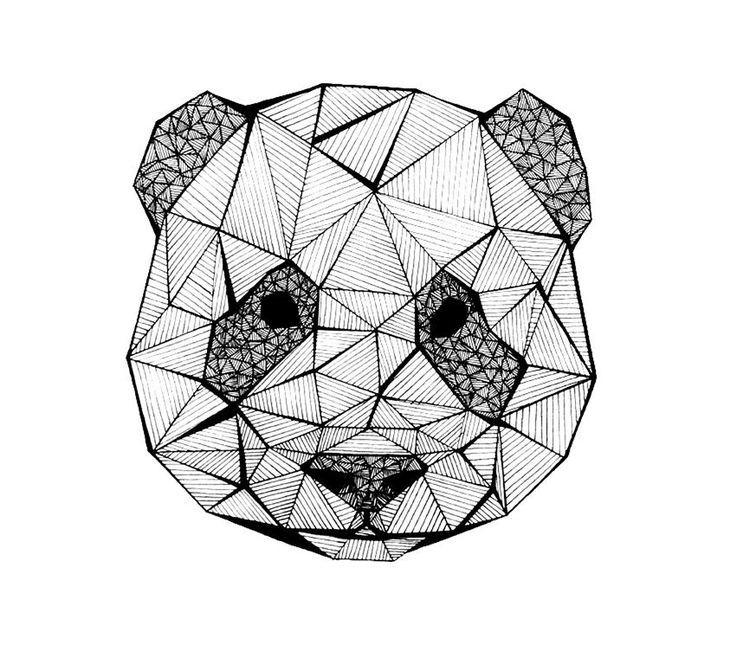 Pin by moln r zsanett on szerelem in 2019 rajzok pand k - Tete de panda dessin ...