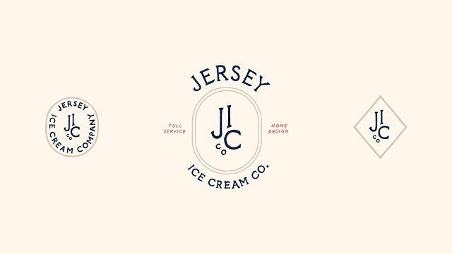 Jersey Ice Cream Co. Branding by Bueno