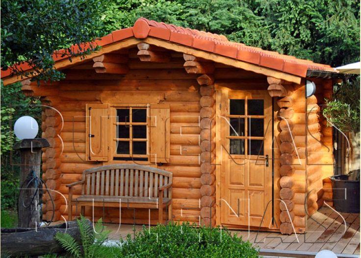 Amazing Die Aussensauna Remi ist eine exklusive Rundbohlensauna und passt hervorragend in jeden Garten Diese Sauna