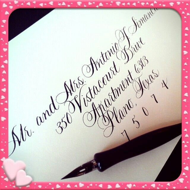 Splendid Script Calligraphy By Jennifer Pinterest