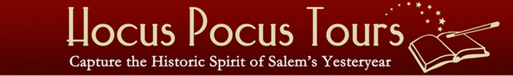 Hocus Pocus Tours is a licensed, locally owned, family operated walking tour company in Salem Massachusetts. On our leisurely 90 minute walk, we will take you into the past. Let our passion for Salem's true history shine through, so that you can capture the historic spirit of Salem's yesteryear.