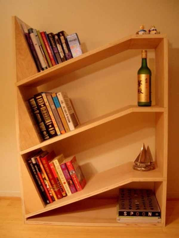 19 Rad Bookshelves For Your Home (Or Dream Home). Leaning BookshelfBookshelf  ...