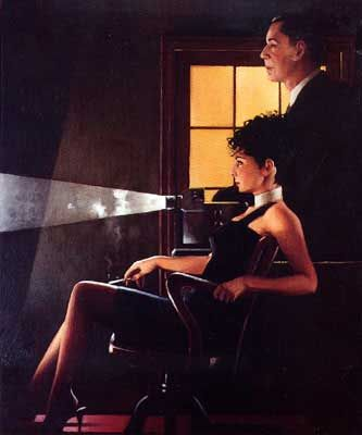 Jack Vettriano - An Imperfect Past II