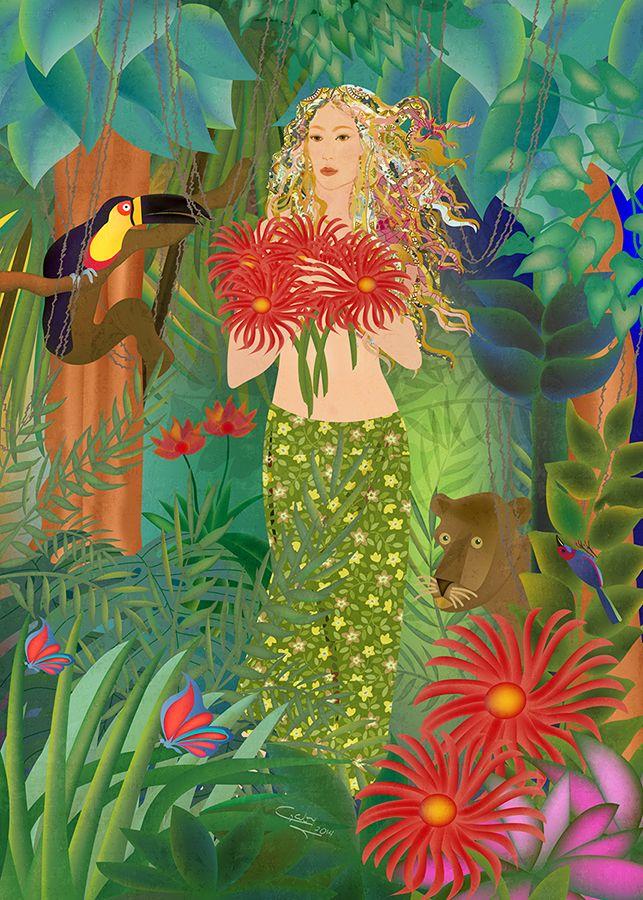 Belleza en la jungla #RevolutionartDesign