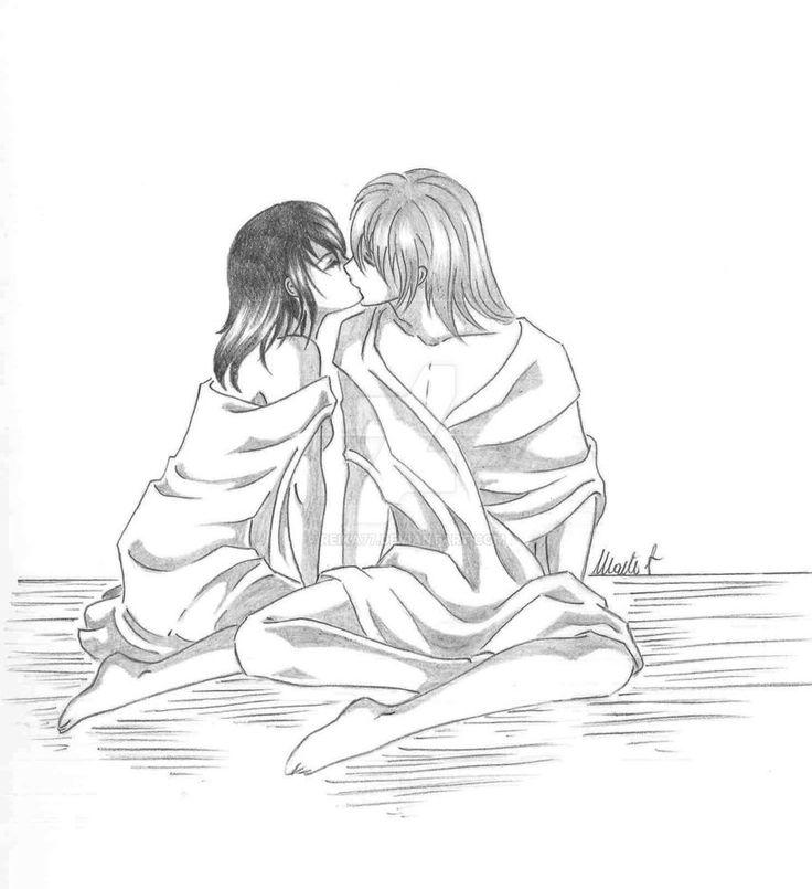 Memories... by Reika77.deviantart.com on @DeviantArt #vampireknight #kiss #kiryu #ichiru #love #manga #anime #couple