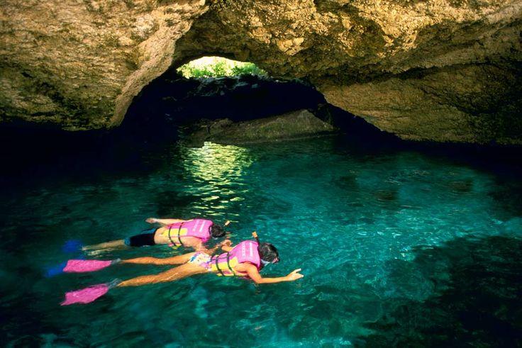 Mexico: Xcarat- underwater river swim