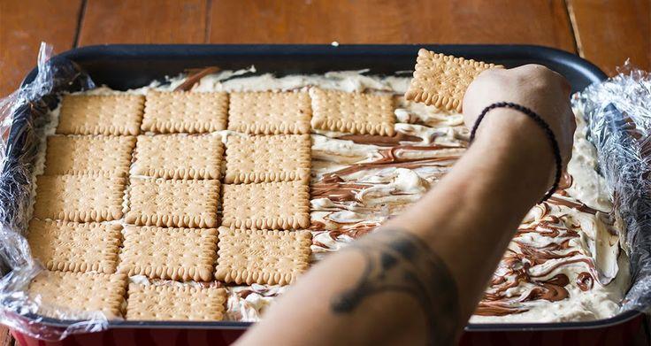Γλυκές Τρέλες: Παγωτό Σάντουιτς του Ακη!