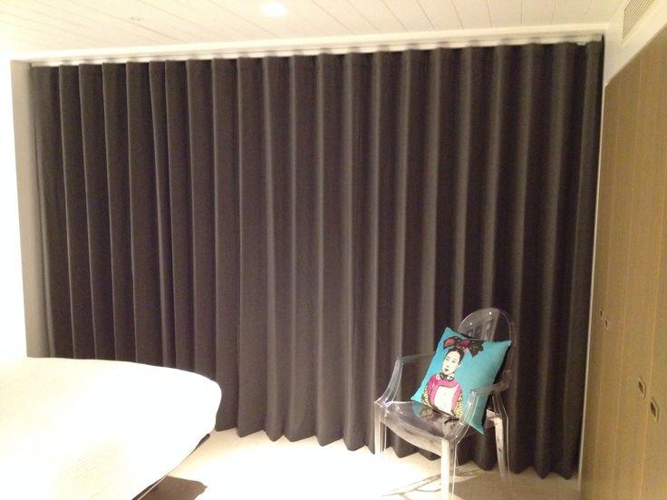 Wave Curtains Romo Fabrics Soho London 020 8361 8339 Curtainsandblindsinlondonco