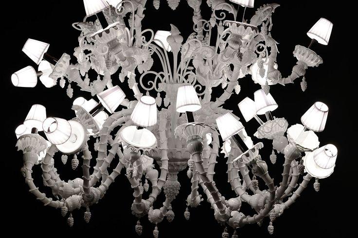 Melt Meee Heaven. Hand made murano glass chandelier
