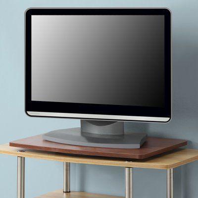 Convenience Concepts Designs2Go Single Tier Swivel TV Stand - 191020CH