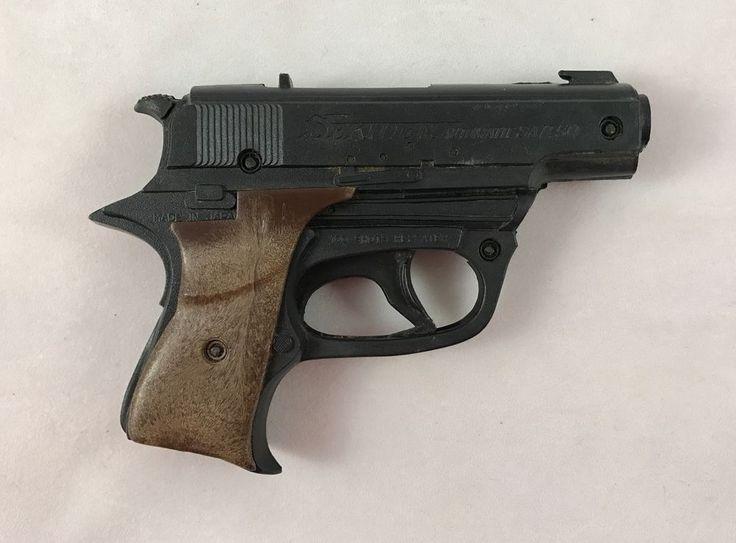 Vintage Sekiden Toy Gun Automatic SAP. 50 Toy Plastic Pellet Gun Japan 1960's  #Sekiden