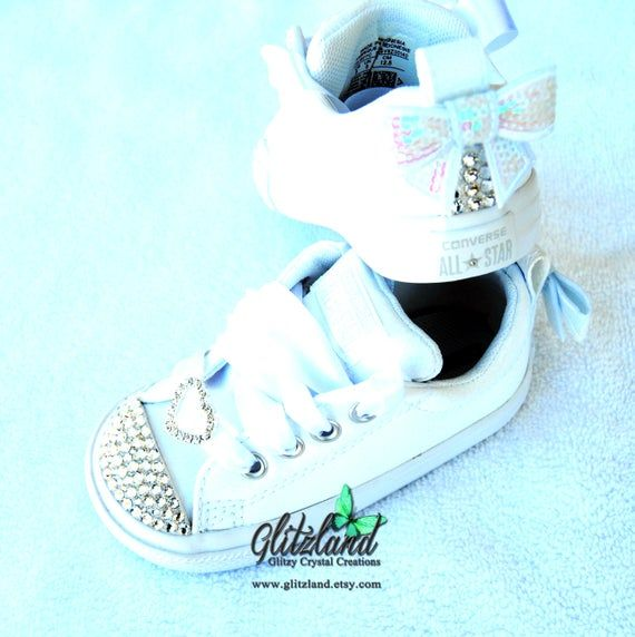 All White Converse, Baby Infant Toddler