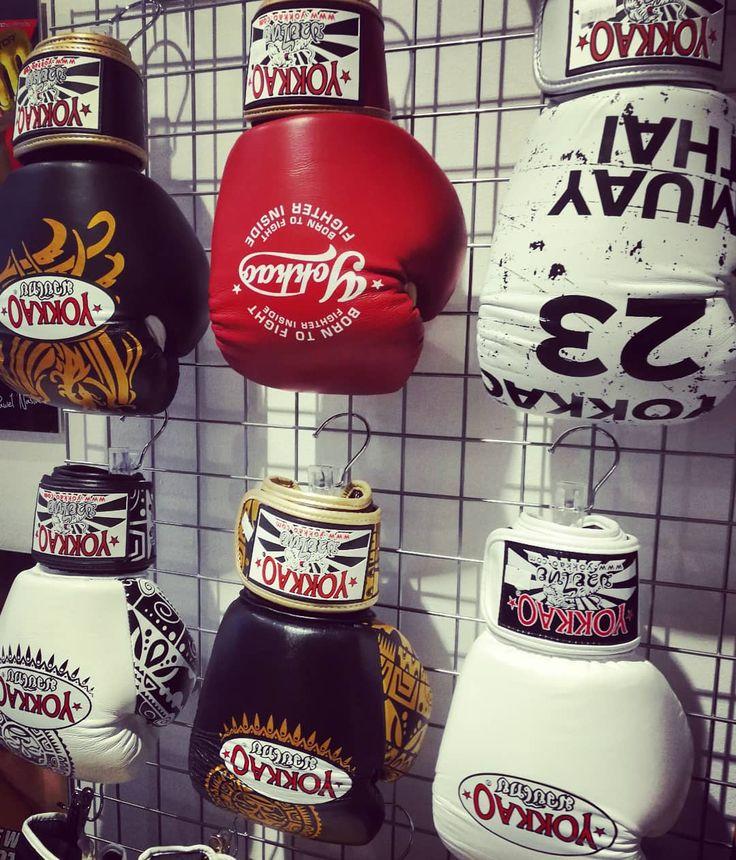 """Polubienia: 31, komentarze: 2 – OCTAGON Gdynia (@octagon_gdynia_adrian) na Instagramie: """"Rękawice bokserskie YOKKAO prosto z Tajlandii #octagongdynia #octagonsklep #yokkao…"""""""