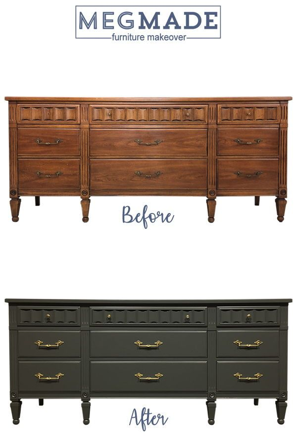Gray Painted Furniture Transitional, Furniture Restoration Chicago