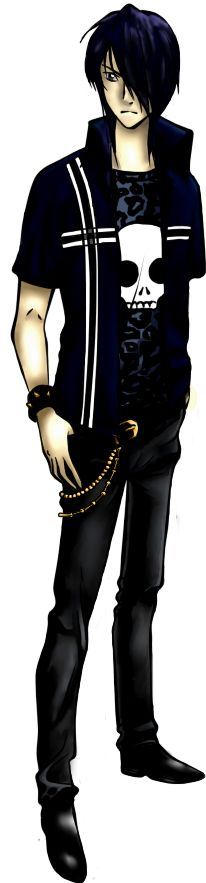 Fang(Maximum Ride) any body else realize how much he looks like Nico di angilo from the pj serious