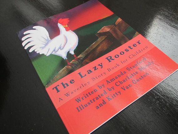 FOR Jennifer S The Lazy Rooster A Waverley by reworkdpress on Etsy, $10.00