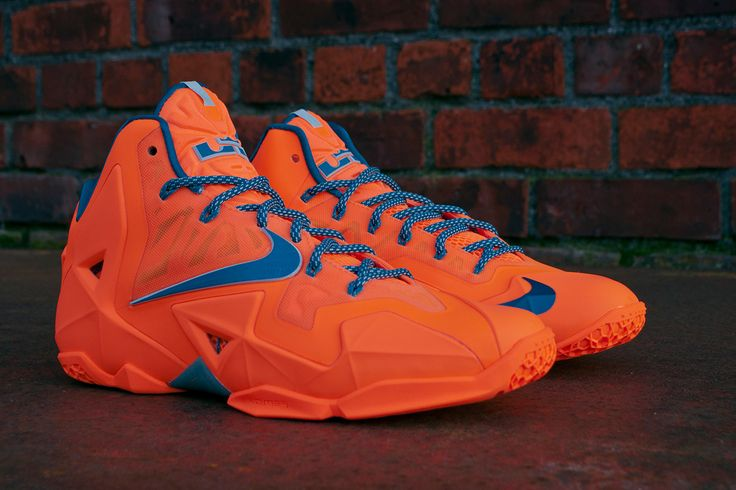 "Nike LeBron XI ""Atomic Orange"""