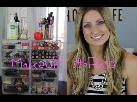 Makeup Storage & Organization - YouTube