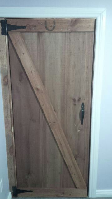 Vinegar Stain Rough Cut And Barn Doors On Pinterest