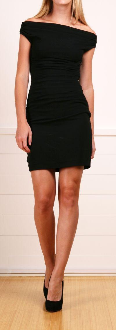HELMUT LANG DRESS - cut out back http://shop-hers.com/products/10217-autumnc-helmut-lang-dress?medium=HardPin=Pinterest=type359=hardpin_type359
