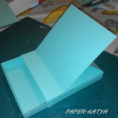 Le Tre Pazze PAPERine: TUTORIAL EASEL CARD CON CASSETTO