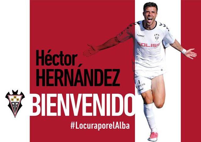 HECTOR OTRO AÑO EN EL ALBA  Albacete Balompié Fichajes 2017/2018 Fútbol Héctor Hernández
