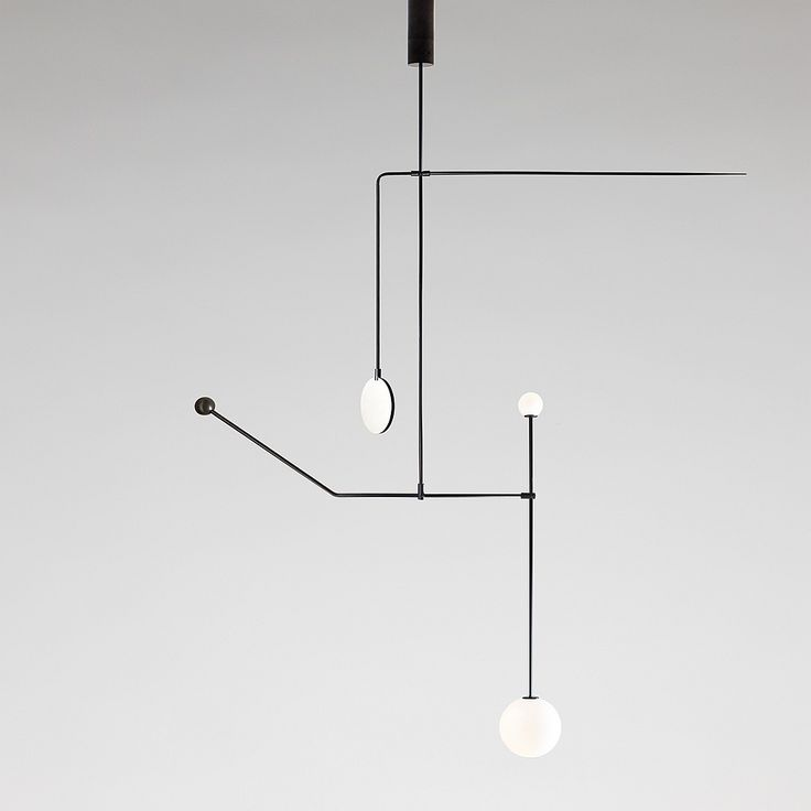 Mobile Chandelier 6 by Michael Anastassiades #lighting #iSaloni2015