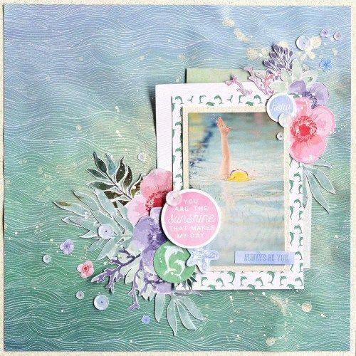 Kaisercraft May - Mermaid Tales - Sunshine by Belinda Spencer