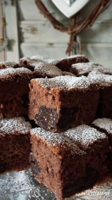Violettaságok: Csokis kráter süti