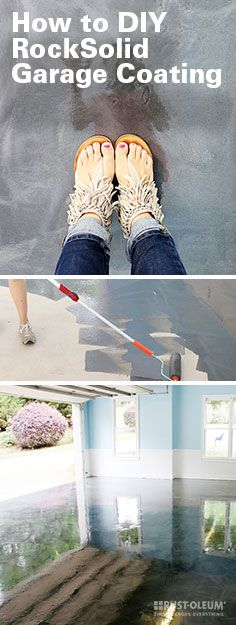 Getting glossy, metallic garage flooring is easier than you think! These gorgeous DIY floor coatings can be applied in one day and are eco-safe. This stunning, easy-to-install metallic kit is perfect to take your home garage to the next level.