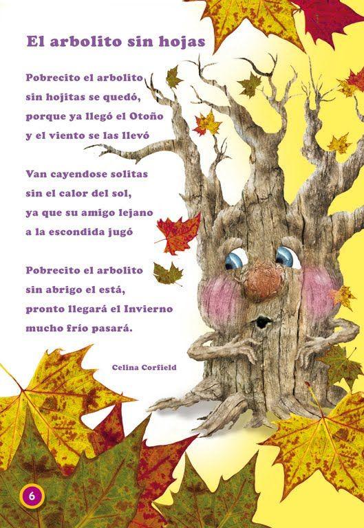 Hoy, sábado 22 de septiembre, ha comenzado el otoño. Durará 89 días y 20 horas y terminará el 21 de diciembre.  Poesías           Cuento    ...