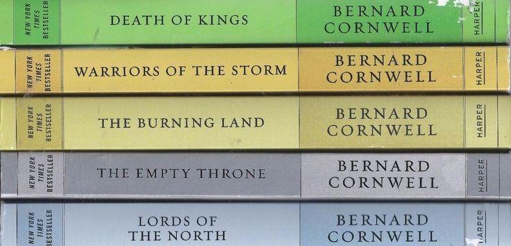 Bernard Cornwell X5 Last Kingdom lot Death Kings Warriors Burning Land Lords