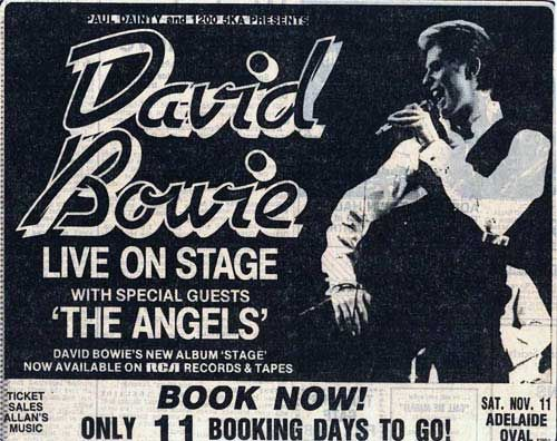 Bowie Downunder: Adelaide 1978