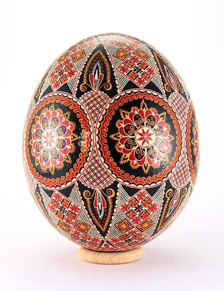 Easter eggs from the Bukovina, Rumania.