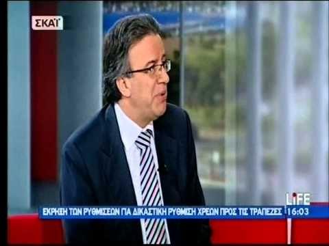 """Τηλεοπτική συνέντευξη - 15.12.2011  Ο Συνήγορος του Καταναλωτή κ. Ευάγγελος Ζερβέας στην εκπομπή """"Life"""" του ΣΚΑΪ - 15.12.2011 (N.3869/2010 Υπερχρεωμένα Νοικοκυριά)"""