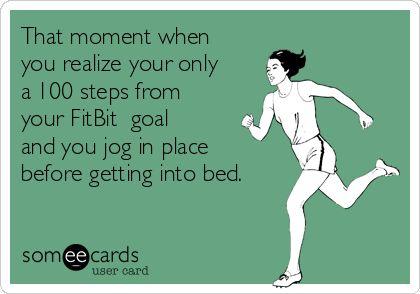 jog until you hit your goal.