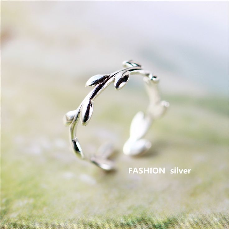 925 sterling silver simple rings opening Korean fresh art female girlfriend gift party leaf shape olive branch Women jewelry,   Engagement Rings,  US $18.60,   http://diamond.fashiongarments.biz/products/925-sterling-silver-simple-rings-opening-korean-fresh-art-female-girlfriend-gift-party-leaf-shape-olive-branch-women-jewelry/,  US $18.60, US $17.67  #Engagementring  http://diamond.fashiongarments.biz/  #weddingband #weddingjewelry #weddingring #diamondengagementring #925SterlingSilver…