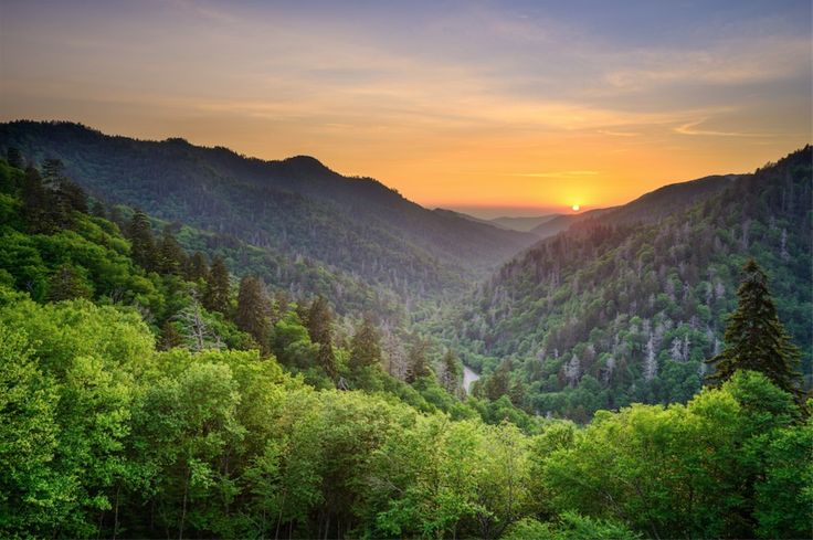 1. Grandes Montañas Humeantes , Carolina del Norte y Tennessee   15 National Parks That Should Be On Your Bucket List
