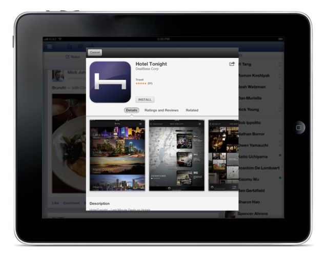 Apple Now Lets You Install App Store Apps Without Leaving Facebook For iOS6