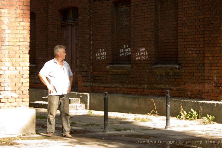 Łódź, Księży Młyn, street art