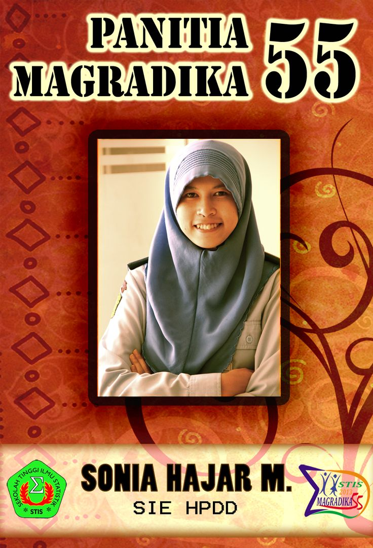 ID Panitia Magradika STIS ke-55, via Photoshop